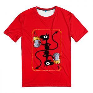 Мужская футболка 3D «Disenchantment. Luci