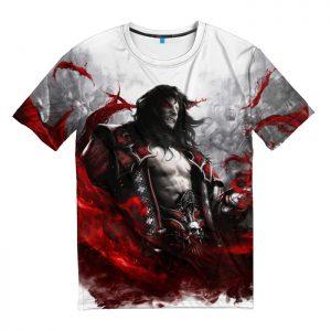 Мужская футболка 3D «Castlevania: Lords of Shadow»