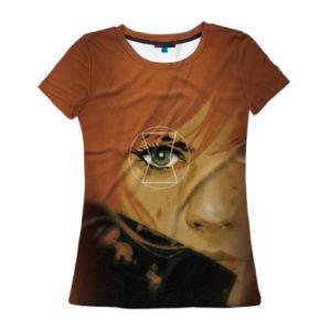 """Женская футболка """"Черная вдова"""""""