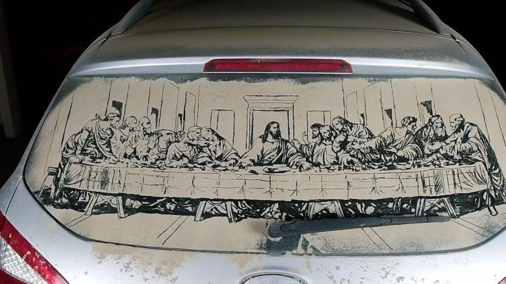 роспись автомобилей