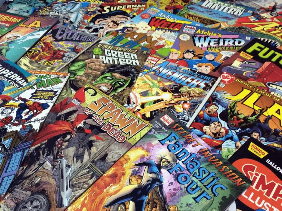 обложка: лучшие комиксы